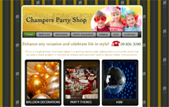 Champers Party Shop